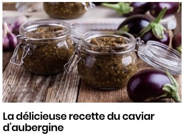 caviar aubergines