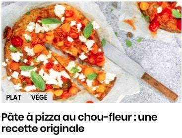 pizza tomates cerises et burrata
