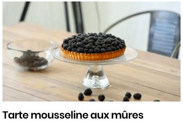 tarte aux mûres