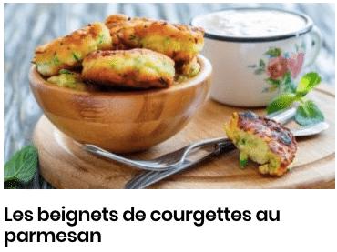 beignets de courgettes