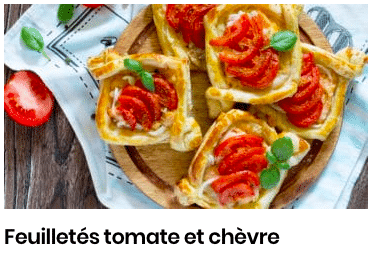 feuilletes tomate chevre