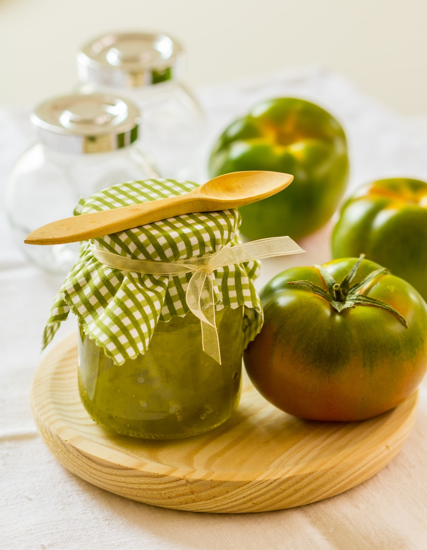 confiture tomates vertes