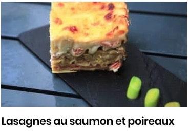 lasagne poireaux saumon