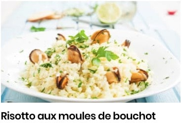 risotto moules