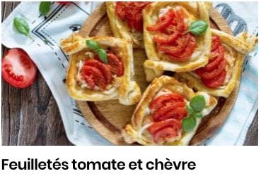 feuilleté tomates