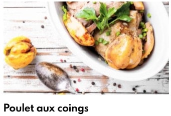poulet aux coings