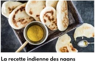 pain naan indien
