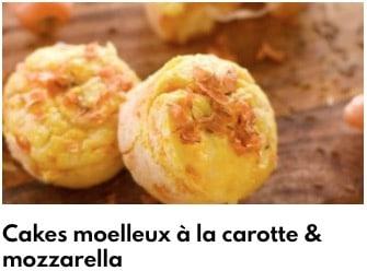 cake moelleux aux carottes