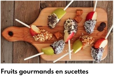 fruits gourmand