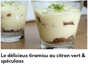 tiramisu citron vert