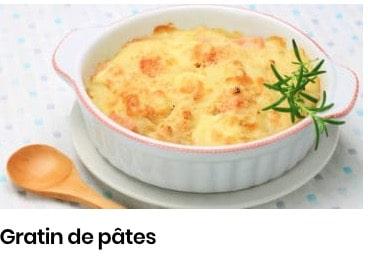 gratin de pâtes