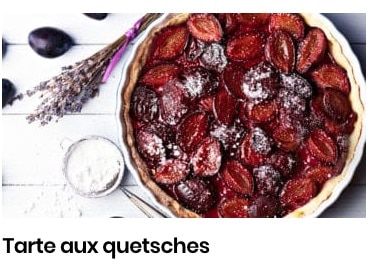 tarte aux quetches