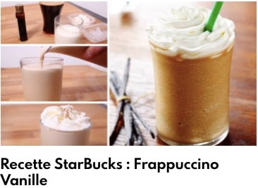frapuccino vanille