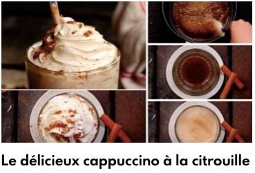 cappuccino citrouille