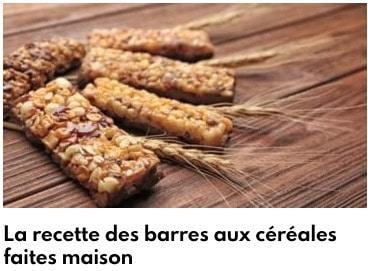 barres au céréales