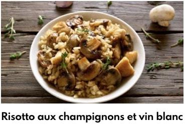risotto de champignons