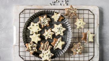 biscuits Noël à la cannelle et au chocolat blanc