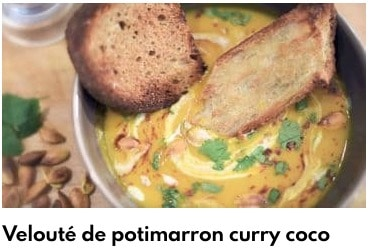 velouté de potimarron au curry
