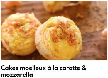 cake moelleux à la carotte
