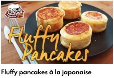 fluffy pancakes à la japonaise