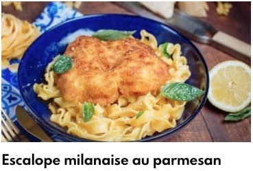 escalope milanaise