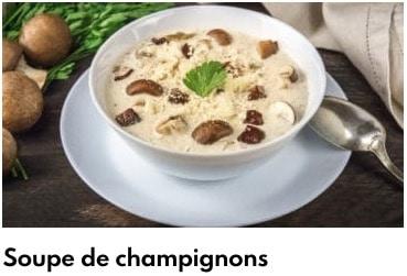 soupe de champignons