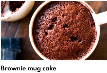 browni mug cake