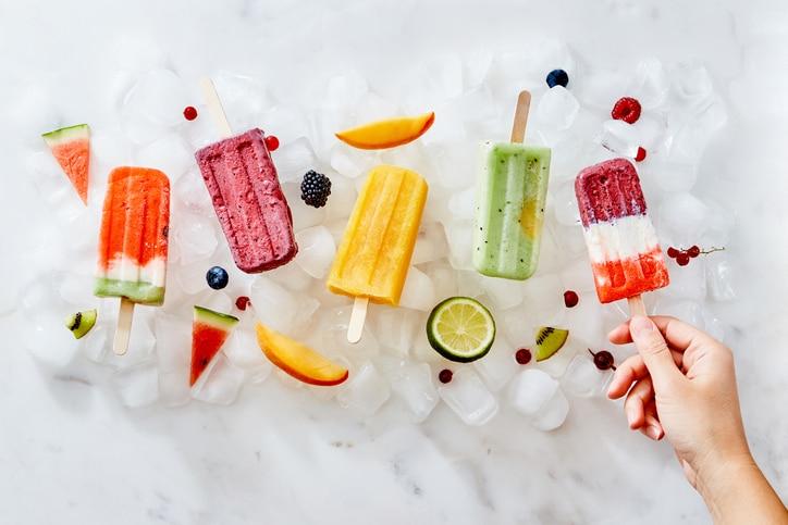 sorbet fruits