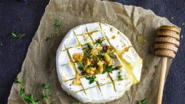 camembert rôti miel chorizo