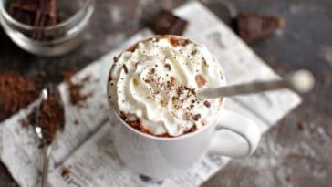 chocolat chaud caramel beurre salé