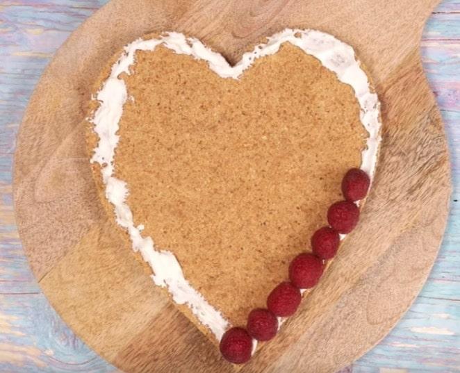 tarte saint valentin