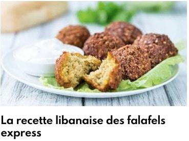 recette des falafels express
