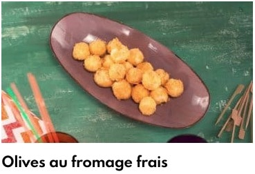 olives fromage