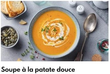 soupe à la patate douce