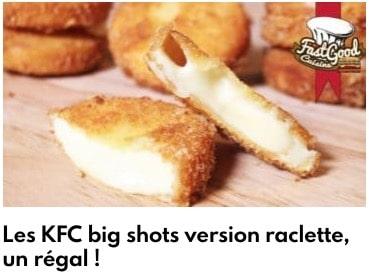 kfc big shot raclette