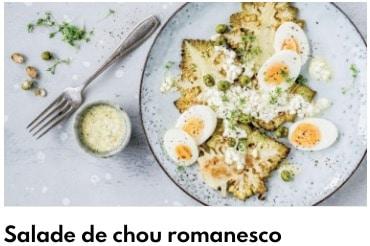 salade chou romanesco