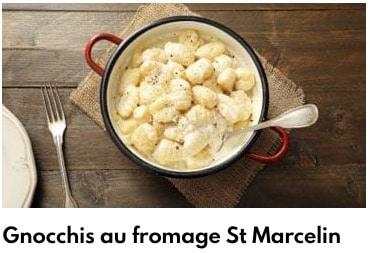 gnocchis de saint marcelin