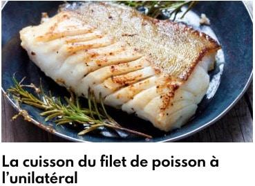 cuisson filet de poisson