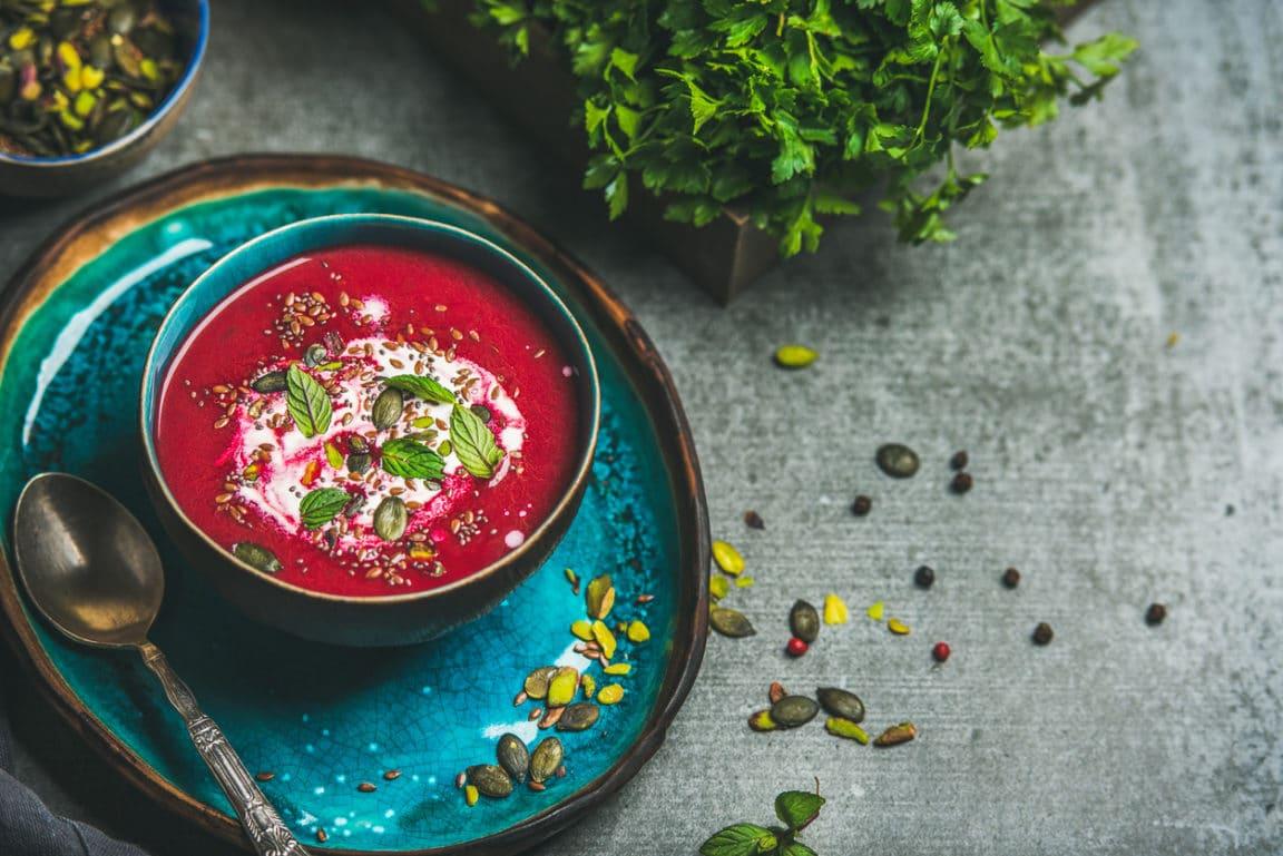 soupe de betterave