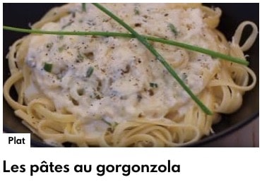 pâtes au gorgonzola