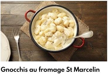 gnocchis saint marcelin