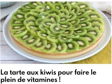 tarte aux kiwis