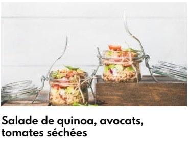 salade de quinoa avocat
