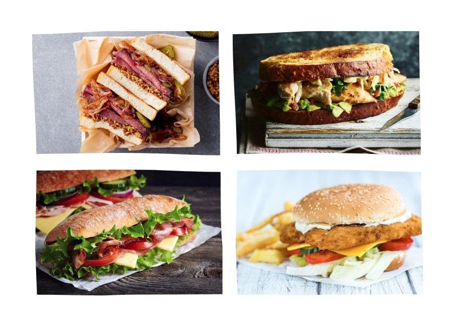 10 sandwichs à tomber par terre