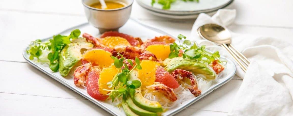 salade d'agrumes