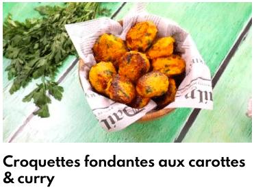 croquettes de carottes
