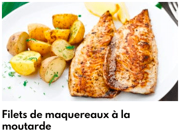 filets de maquereau à la moutarde
