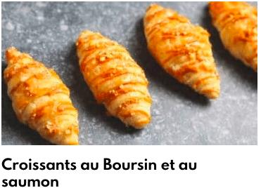 croissant saumon boursin