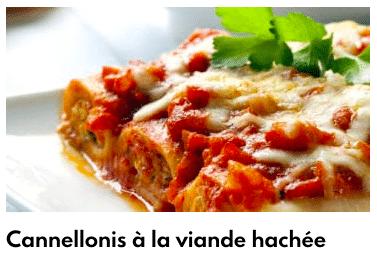 cannellonis viande