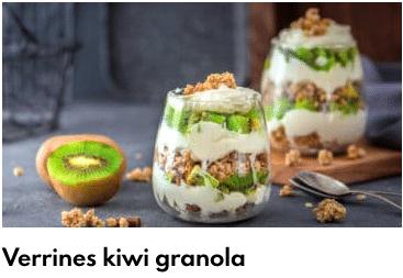 kiwis granola